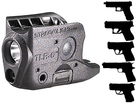 Streamlight TLR-6 LED Weapon Light w/ Red Laser