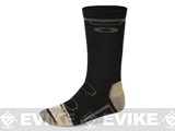 Oakley Performance Wool Crew Socks - Black (Medium)