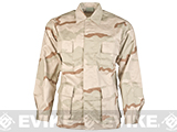 Rothco 55/45 Cotton Poly Ripstop BDU Jacket - 3 Color Desert (Size: XL)
