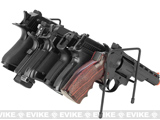 AIM Sports 8 Pistol Metal Organizer Rack