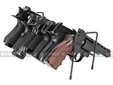 z AIM Sports 6 Pistol Metal Organizer Rack