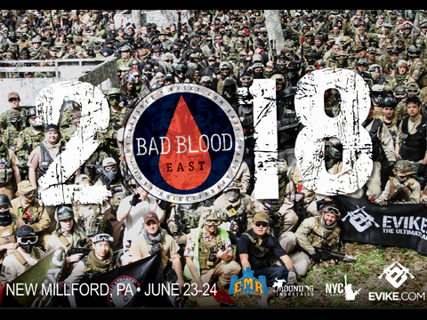 Operation Bad Blood 2018 (6/23-24/2018 New Milford, PA)