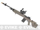 G&P M14 DMR Custom Airsoft AEG Sniper Rifle w/ Red Dot Scope (Package: Desert / Gun Only)