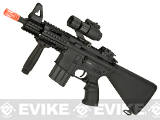 A&K NS15 Full Metal M4 CQB-01 Stubby Killer Airsoft AEG Rifle with Compact Fixed Stock