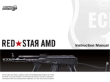 FREE DOWNLOAD -  Manual for Red Star AMD Airsoft AEG Instruction / User Manual