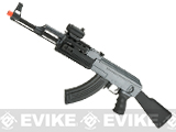(NEW YEAR'S EPIC DEAL!!!) Matrix AK47 Tactical Airsoft AEG Rifle w/ RIS Handguard & Lipo Ready Metal Gearbox by CYMA