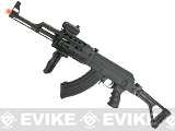 Matrix AK47 RIS Special Forces Airsoft AEG Rifle w/ Skeleton Side-folding Stock by CYMA -