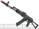 New Version Full Metal CYMA / Kalash AK-74 Airsoft AEG Rifle w/ Side Folding Stock -