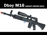 FREE DOWNLOAD -  Manual for Dboy M16 AEG Instruction / User Manual