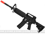 (8 FREE MAG PACKAGE DEAL!) G&G Blowback GR16 Combat Machine Airsoft AEG Rifle (Black)