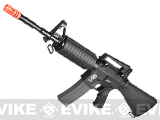 Evike.com Special Edition G&G Full Stock CM16 Carbine Airsoft AEG Rifle - (Black)