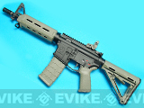 G&P Full Metal Magpul PTS Custom CQB MOE Experimental Airsoft Carbine (Foliage Green)