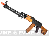 CYMA Standard RPK LMG Airsoft AEG Rifle w/ Steel Bipod and Real Wood Furniture