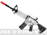 "z ICS Evike Custom ""Prepared for the Worst"" M4 Carbine Airsoft AEG Rifle"
