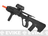 JG Custom Series AUG RAS Full Size Airsoft AEG Rifle -