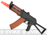 Matrix JG Electric Blowback AKS74U Folding Stock with Steel Receiver and Real Wood Furniture