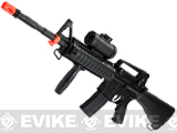 DE M83 Full Size M4 SR-16 Airsoft Low Power Airsoft AEG Electric Rifle Package