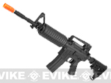 King Arms Colt M4A1 Carbine Airsoft AEG Rifle w/ Nylon Fiber Receiver, Battery & Charger