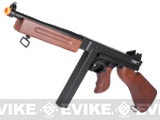 z SoftAir Licensed Thompson M1A1 Tommy Gun Full Size Airsoft LPAEG Rifle