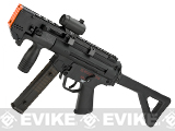 6mmProShop Custom Airsoft AEG Sub-Machine Gun (Model: Swordfish-K PDW - Optic + Mag Package)