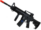 AGM MP032 Full Metal M4 RIS Airsoft AEG Rifle w/ PEQ2 Box