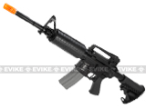 APS Full Metal M4 EBB Electric Blowback Airsoft AEG Rifle w/ Integrated MOSFET