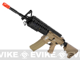 z Evike Custom G&G Full Length Carbine Combat Machine Airsoft AEG (M4S RIS / Tan)
