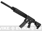 z Evike Custom M4 EOD DSR Airsoft AEG Sniper Rifle with Full Metal RIS and Barrel Assembly