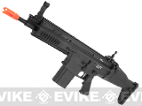 Echo1 Advanced Squad MK17 Carbine Heavy Airsoft AEG Rifle - Black