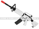 G&G Blowback GR16 Limited Edition Chione Combat Machine Airsoft AEG Rifle - White