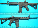 z G&P Magpul Licensed PTS MOE M4 Carbine Airsoft AEG Rifle - Black