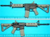 G&P Magpul Licensed PTS MOE M4 Carbine Airsoft AEG Rifle - Foliage Green / Black