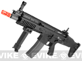 FN Herstal Licensed Full Metal SCAR CQB Airsoft AEG Rifle by G&G - (Black)