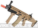 FN Herstal Licensed Full Metal SCAR CQB Airsoft AEG Rifle by G&G - (Tan)