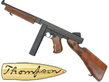 Bone Yard - Full Metal Thompson AEG with metal gearbox Airsoft AEG. (Store Display, Non-Working Or Refurbished Models)