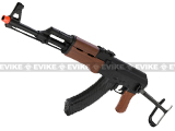 SRC AK47 AK47-S Airsoft AEG Rifle w/ Metal Gearbox. (Free battery and charger)