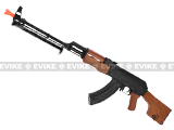 SRC Full Metal AK47 RPK Airsoft AEG Rifle w/ Metal Gearbox, Bipod, battery and charger