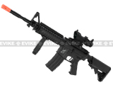 SRC SR-16 M4 RIS Carbine Airsoft AEG Rifle with Battery and Charger - Black