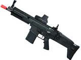 FN Herstal Licensed Full Metal SCAR Heavy Airsoft AEG by VFC - Black