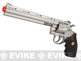 UHC Cobra  Spring Revolver (Length: 8 / Silver with Black Grips)