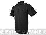 Hazard 4 Quickdry LEO Polo Shirt - Black (Size: Large)