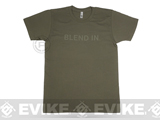 Crye Precision Blend In T-Shirt - Army Green