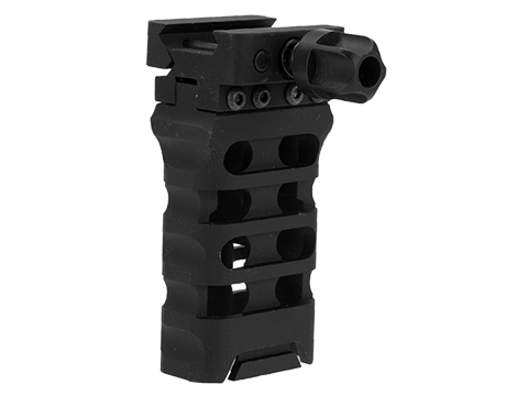 APS CNC Machined Skeletonized Aluminum QD Vertical Grip for Standard