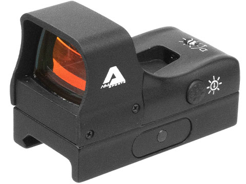 AIM Sports 1x27 Compact Red Dot Sight w/ Push Button Activation