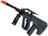 S-M9 Full Size AUG Spring Bolt Action Airsoft Rifle w/ Adjustable Hopup & Scope
