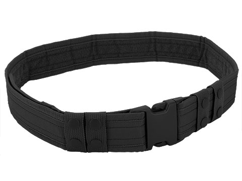 Matrix Ballistic Nylon Tactical Pistol Belt (Color: Black)
