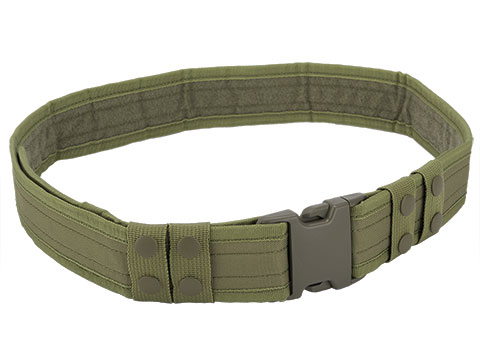 Matrix Ballistic Nylon Tactical Pistol Belt (Color: OD Green)