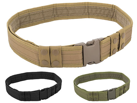 Matrix Ballistic Nylon Tactical Pistol Belt (Color: Coyote Tan)