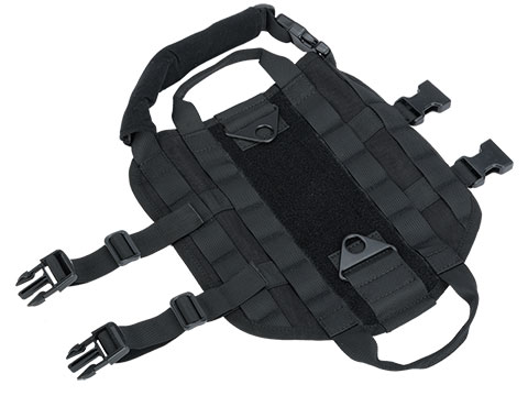Matrix Tactical Working Dog Vest (Color: Black / X-Small)