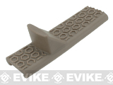 BOLT Airsoft PVC Honeycomb Pattern Handstop for Picatinny Rail Systems - Tan